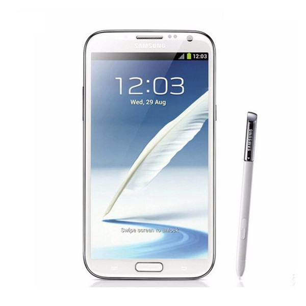 Samsung Galaxy Note2 N7100 Quad Core 2 GB RAM 16 GB ROM Hinweis 2 II Android 4.1 8MP Kamera 3G refurbished entsperrt Telefon