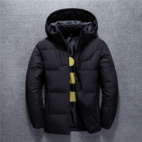 BO 2019 de invierno nuevos hombres abajo chaqueta tapa extraíble breve párrafo molesto por la chaqueta de la juventud