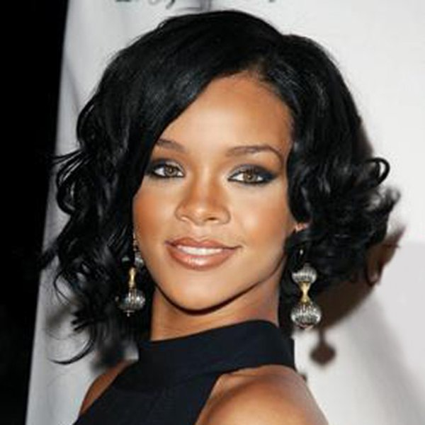 Hot selling sexy women short hair wig 10 inch black Afro curly wigs for Afro 100% synthetic hair with weaving cap free shipping