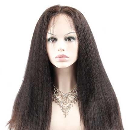 Low price and high quality blonde brazilian human full lace wig for black  women 36f9a597fee1