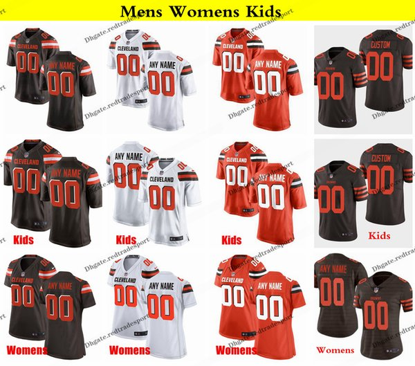 reputable site 9c4e5 8f7b5 2019 Customize Cleveland 73 Joe Thomas Browns 65 Larry Ogunjobi Damarious  Randall 53 Joe Schobert 19 Bernie Kosar 32 Jim Brown Football Jerseys From  ...