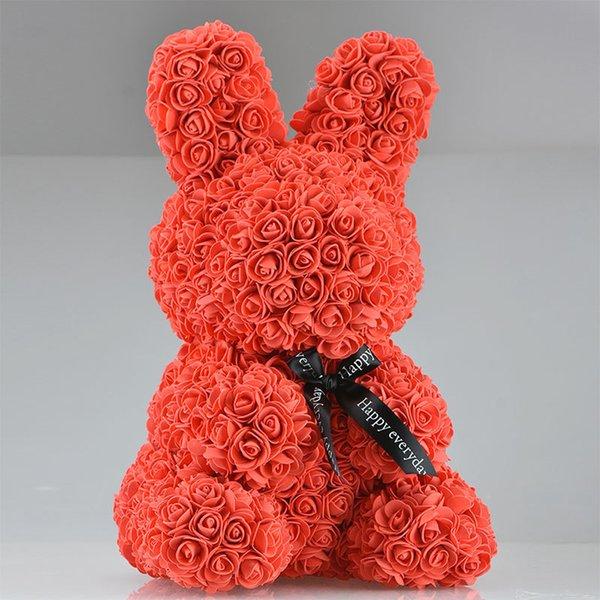 45cm kırmızı tavşan