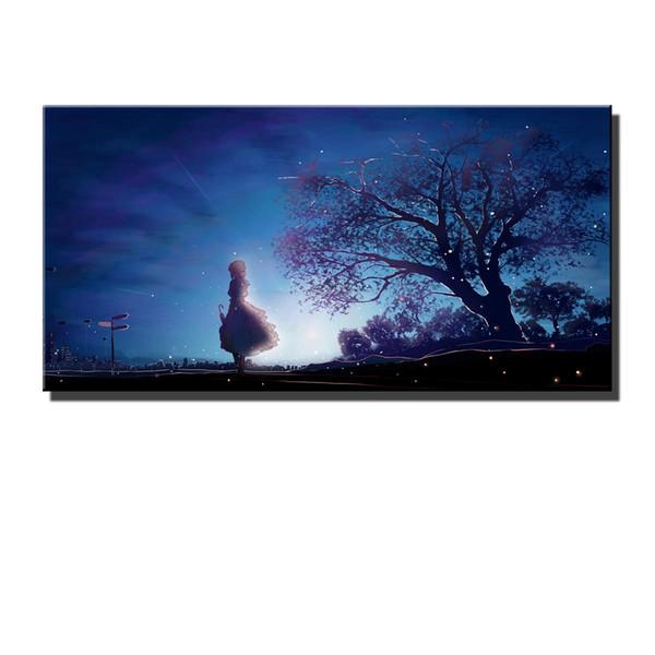 Violet Eternal Garden,HD Canvas Printing New Home Decoration Art Painting/(Unframed/Framed)marvel Villains