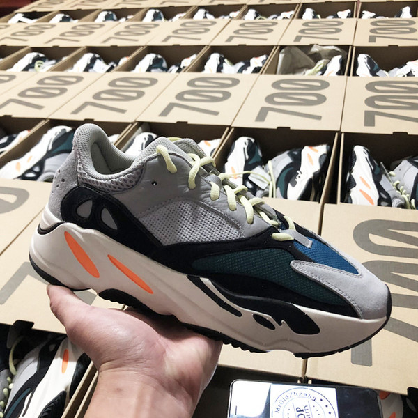 2019 HOT Discount 700 Blush Desert Rat Kanye West Wave Runner 700 Zapatillas de deporte Zapatillas de deporte Athletic Sneaker Outdoor Athletic 16
