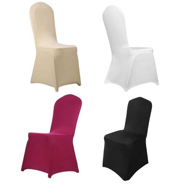 Pleasing Modern Wedding Banquet Chair Cover Spandex Stretch Elastic Chair Covers Hotel Kitchen Dining Seat Covers Outdoor Parson Chair Covers Couch Slipcover Short Links Chair Design For Home Short Linksinfo