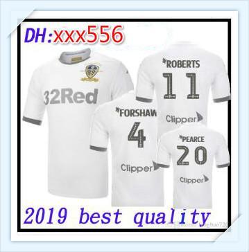 Maglia calcio nazionale Leeds United 19 20 ROOFE BAMFORD ALIOSKI maglie centenarie 2019 2020 Maglie calcio CENTENARY JANSSON