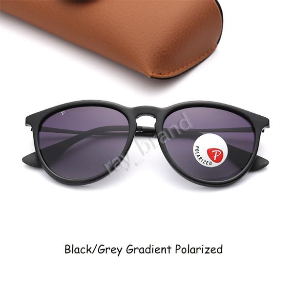 Черно-серый градиент поляризованный