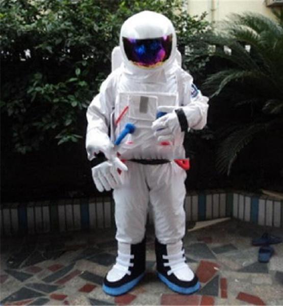 Grand blanc astronaute abeille dessin animé poupées mascotte costumes accessoires costumes Halloween livraison gratuite