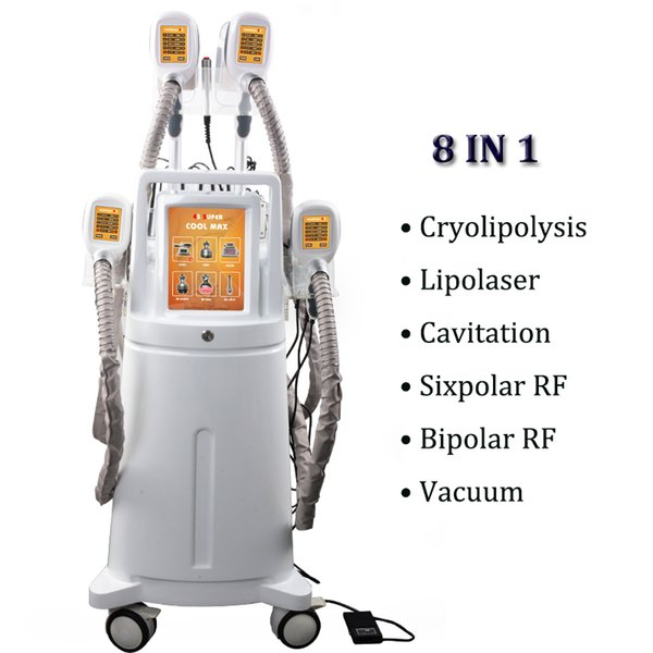 Машина 4 Zeltiq Cryolipolysis тучная замерзая регулирует тело деятельности уменьшая машины антицеллюлитного удаления RF кавитации Cryolipolysis тучные