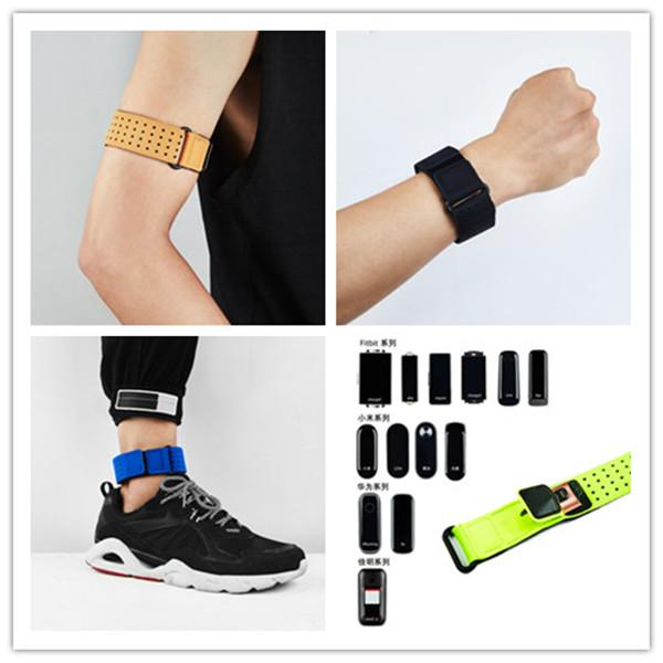 Universal Nylon Cloth Wristband Armlet Sport Gym Running Armband for fitbit Charge 2 3 Inspire Xiaomi Samsung smart Bracelet Watch Bands