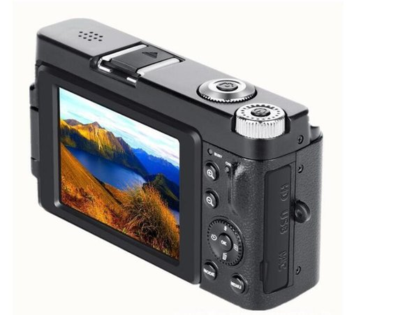 New Portable Mirrorless System Cameras 16X Digital Zoom 24MP 3.0-Inch TFT Screen Face Recognition Anti-shake HD WiFI Camera