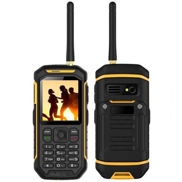 Hot sales outdoor products walkie talkie phone waterproof and shockproof very good PTT rugged phone for outdoor