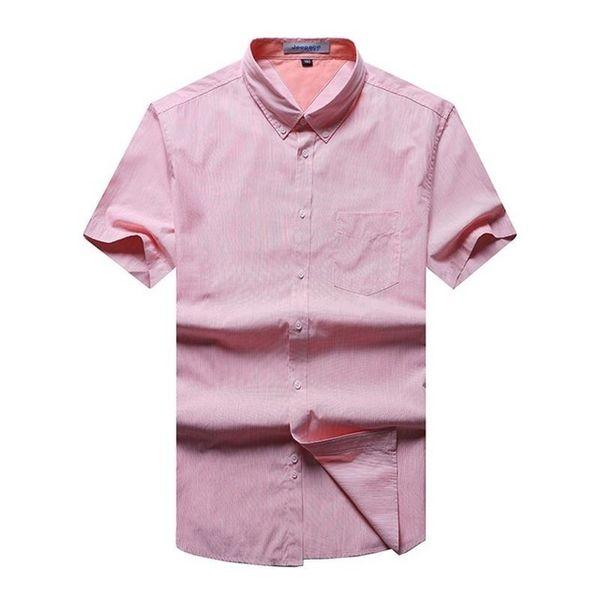 9XL 8XL 6X 2018 New Cotton Men Dot Dress Shirt Short Sleeve Male casual Shirts Slim Fit mens Clothing Polka Dot Camisa Masculina