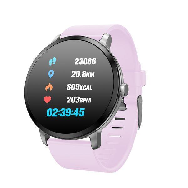 V11 Smart Watch Men Women IP67 waterproof Tempered Glass Activity Fitness Tracker Heart rate monitor sport Smartwatch pk KW18 Y1