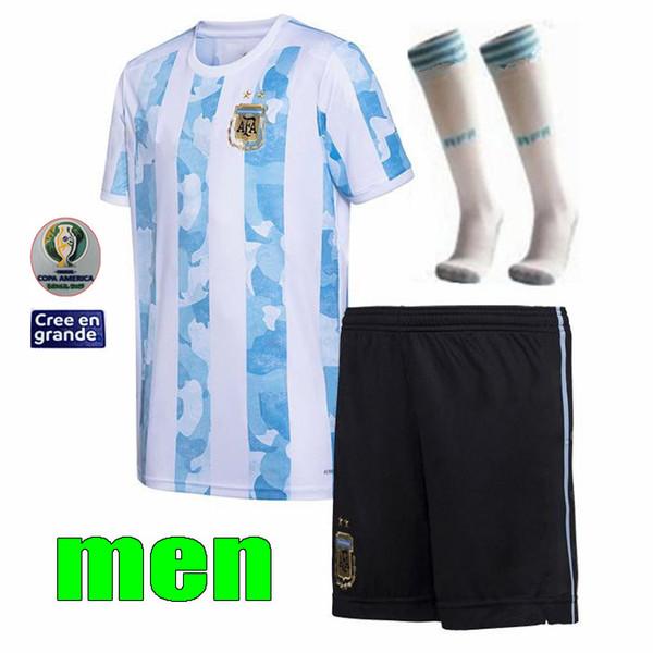 2020/21 Inicio hombres Kit + parche