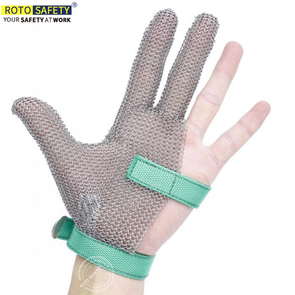2019 Level 5 Stainless Steel Mesh Gloves, Cut Resistant Gloves For Kitchen  Butcher Working Safety,Chain Mail Gloves From Dlglobal, $40.21 | DHgate.Com