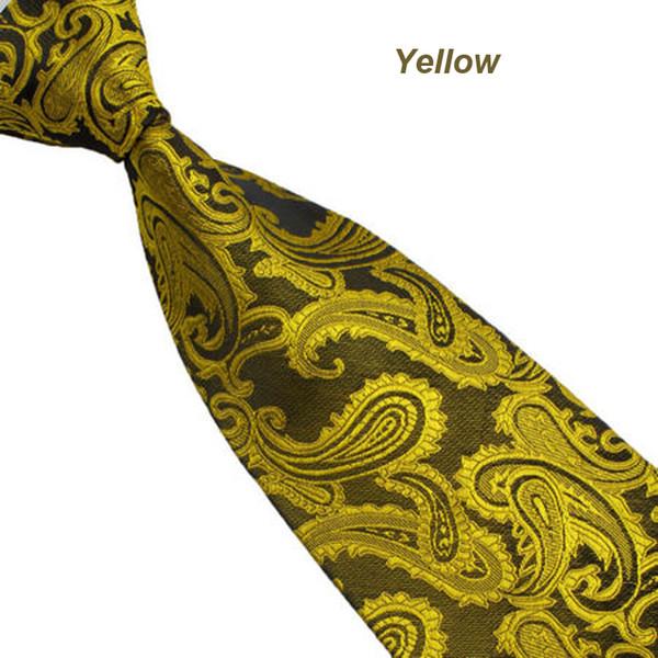 Herrenmode Neue Seide Klassische Paisley-Mischungsfarbe Südkoreanische GEWEBTE Silk Krawatte der Männer Krawatte 145CM * 10CM Drop Shipping 3J29