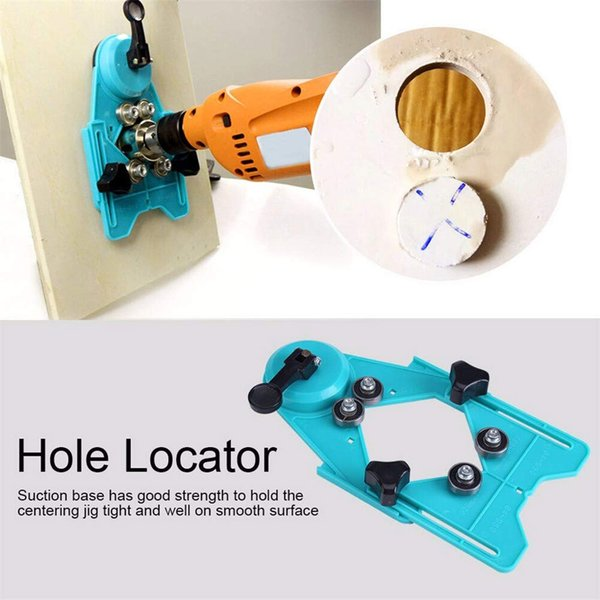 Adjustable Masonry Hole Drill Guide for Tile opening Locator Ceramic Cutter Construction Hand Tools Drill Bit Set 2018 New