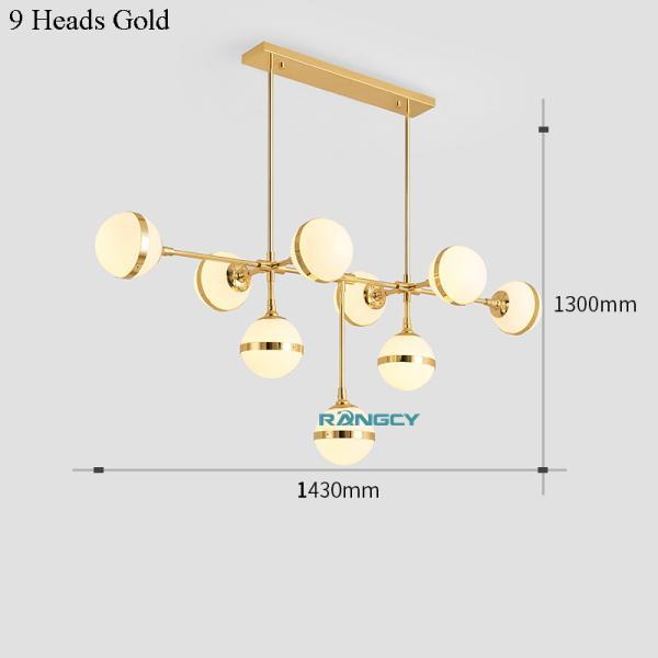 Gold 9 light