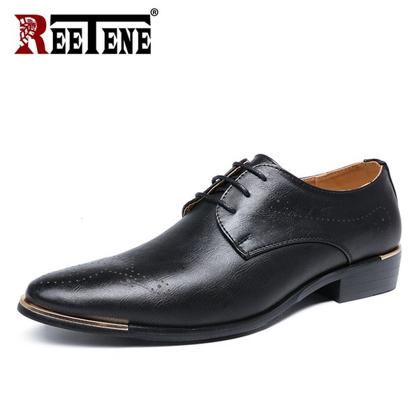 Mens Dress Flats Loafers Shoes Oxfords