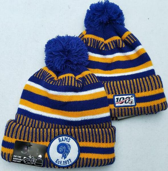 100 лет юбилей зимние бараньи шапки черепа шапки вязаные шерстяные манжеты боковой линии холодная погода спортивная вязаная шапка капот теплая шапка 00