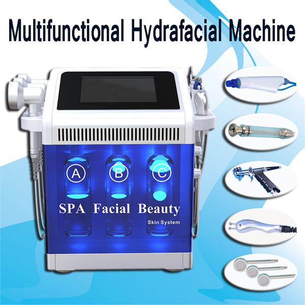 hydrafacial machine Hydro microdermabrasion ultrasonic skin care rejuvenation equipmnent BIO RF lifting dermabrasion diamond skin peeling