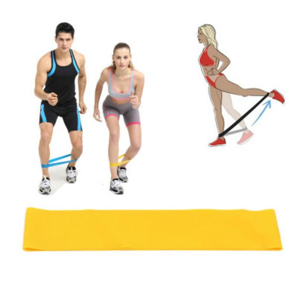 Erkek Kadın Direnç Egzersiz Bantları Lateks Direnç Streching Bant yoga - Yardımcı Bantları Çekin Fitness ekipmanları