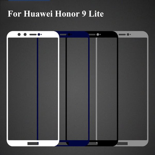 1PC Full Cover Protective Tempered Glass For Huawei Honor 9 Lite 9lite 3D Screen Protector Protection on Film