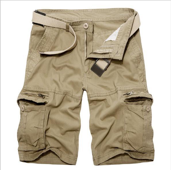Sommerkleidung neue Cargohose Koreanische Version von Multi-Pocket-Cargohose für Männer