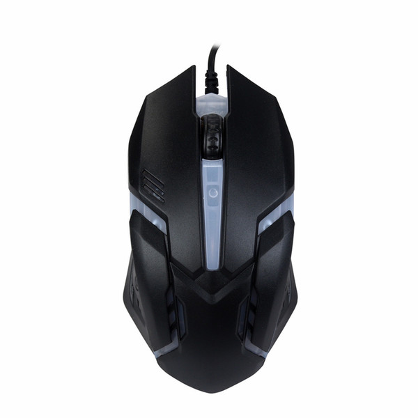 USB Mouse Gamer For PC Laptop 1600 DPI USB Wired Mouse Optical Gaming Mice Luminous Mouses l109#3