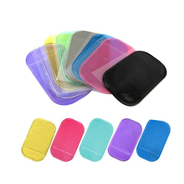 1Pc Anti Non Slip Car Dashboard Sticky Pad Mat Gadget Mobile Phone GPS Holder Interior Anti-slip Mat Accessories free shipping