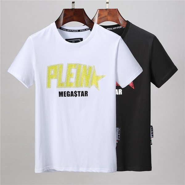 2020 hot mens Brand Designers T Shirt Hip Hop White Mens Clothing Casual T Shirts For Men With Letters Printed TShirt Size M-3XL