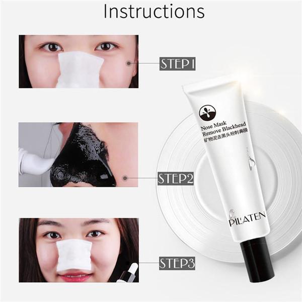 PILATEN Facial Minerals Conk Nose Blackhead Remover Mask Facial Mask Nose Blackhead Cleaner Pcsacial Mask Remove Black Head 15g