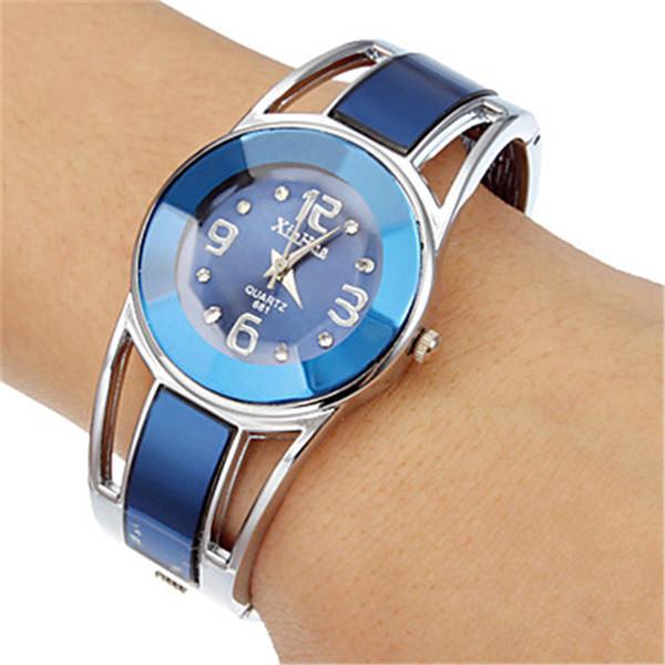 OTOKY Bracelet Womens Alloy Band Quartz Analog Round Dress Bracelet Wrist Watch Gift painting Female Quartz Wristwatches YY04