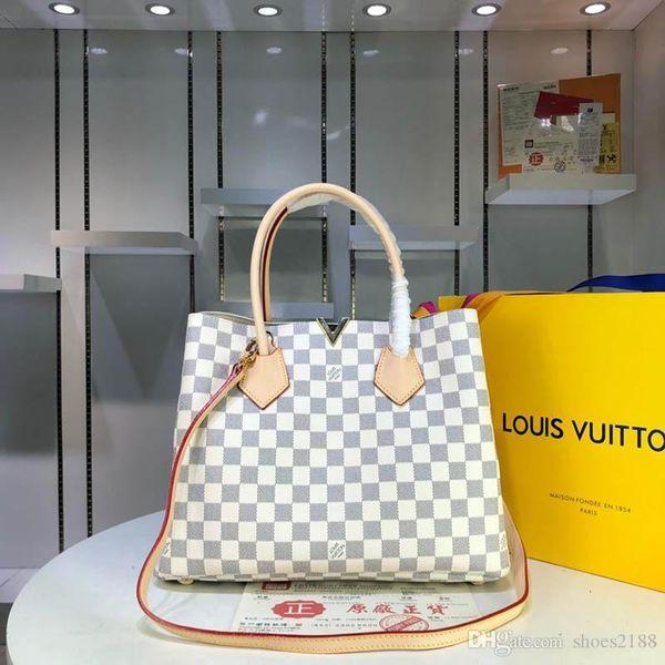 Mulheres e homens de grande capacidade de luxo bolsa tendência da moda limitada nova alta qualidade saco de viagem mala carteira B6 mundial M41435-2222 B6