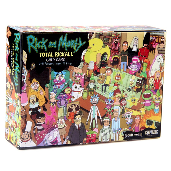 Rick and Morty Funny Cards Game For Parties Adult Rick and Morty Total Rickall Cooperative Card Game Play Party Games