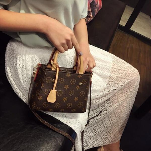 Yöntem Eğik Çapraz Paketi ve El Bag Güzel İnek İki Şekli ile Sıcak Tasarımcı Lüks Çantalar Cüzdanlar Moda Lüks Tasarımcı Kadınlar Çanta