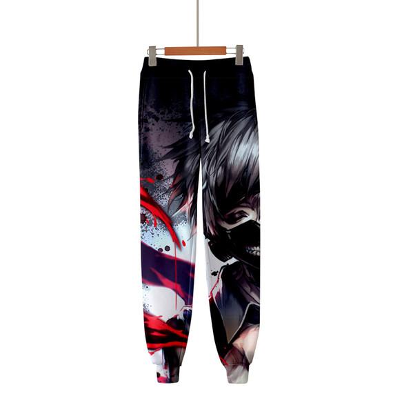 Frdun 3D Токио упырь 2018 новый Kpop мода повседневная Jogger брюки горячие новые случайные теплые брюки Моды тонкий Kpop Мужчины/Женщины