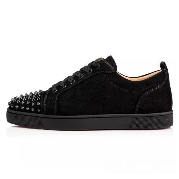 2019 Nouveau Designer chaussures cloutés Spikes pour Hommes Flats Party Femmes Lovers cuir véritable Sneakers en gros Livraison gratuite L11