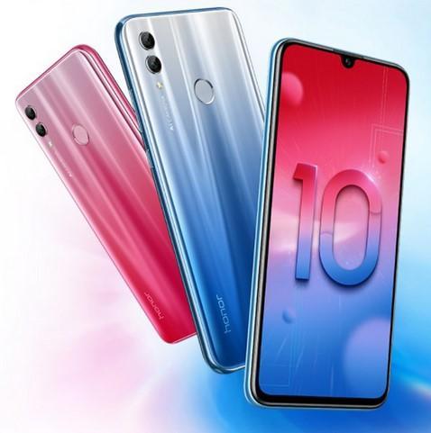 Original Huawei Honor 10 Android 8.0 4G LTE Smartphone 3D Curved Glass Kirin 970 AI Processor 5.8 Inch 24MP Camera
