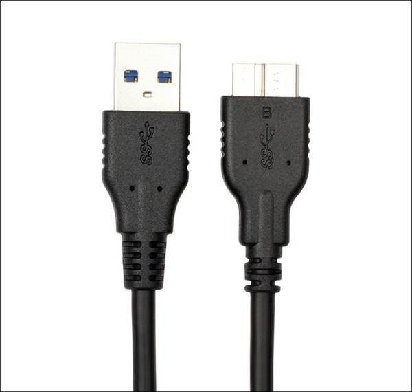 20cm - USB3.0 Mikro B-Siyah