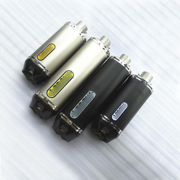 38-51mm Motorrad-Edelstahl und echtes Carbon-Fibe-Abgasrohr mit DB-Mörder für FZ8 FZ1 CBR1000 CBR500 NC700