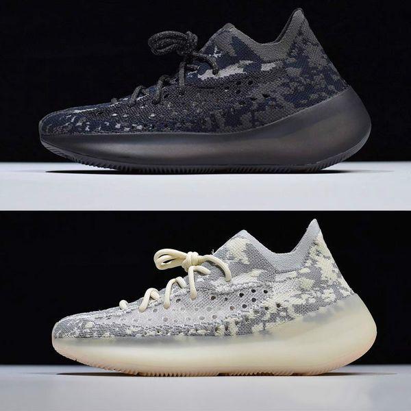 Kanye 380 V3 Scarpe FB6878 Nuovi Designer Shoes Citrin Alien Alien scarpa da tennis delle donne degli uomini di modo nero Scarpe da corsa in magazzino