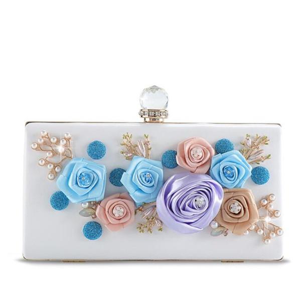 Meloke 2019 ручной работы цветы свадебные обеденные сумки роскошные вечеринки клатч кошельки поделки банкетные сумки для женщин прямая поставка