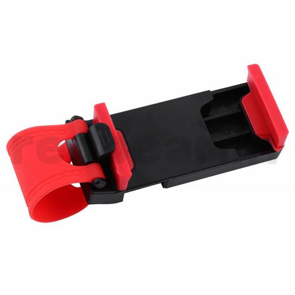 Araç montaj Araç Streeling Direksiyon Cradle Tutucu AKILLI Klip Araba Bisiklet Dağı Cep iphone samsung Cep Telefonu için GPS ile perakende kutusu