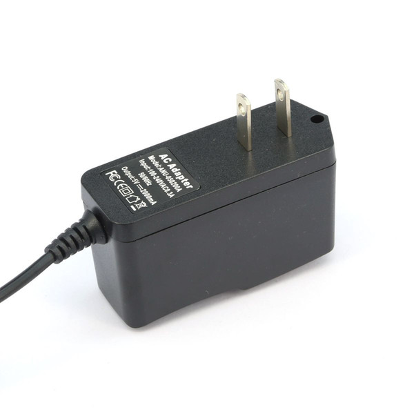 best selling 5V 2A New AC 100V-240V Converter Adapter DC 5V 2A 2000mA Power Supply DC 5.5mm x 2.1mm 3.5mm x 1.35mm 4.0mm x 1.7mm for android TV BOX