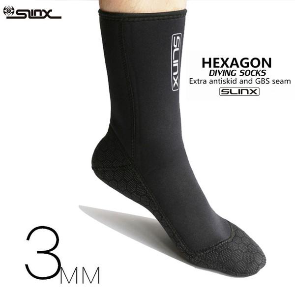 Socken Tauchanzug Neoprenanzug Professionelle 3M Neopren Tauchmaterial Tauchschuhe Winter Schwimmen Ausrüstung