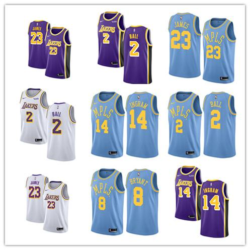 various colors 6c694 c8b58 Los Angeles LeBron James Laker Fanatics Branded Fast Break Basketball  Association Jersey Edition Tee T Shirts Tees T Shirt From  Hot_new_jerseyfive, ...