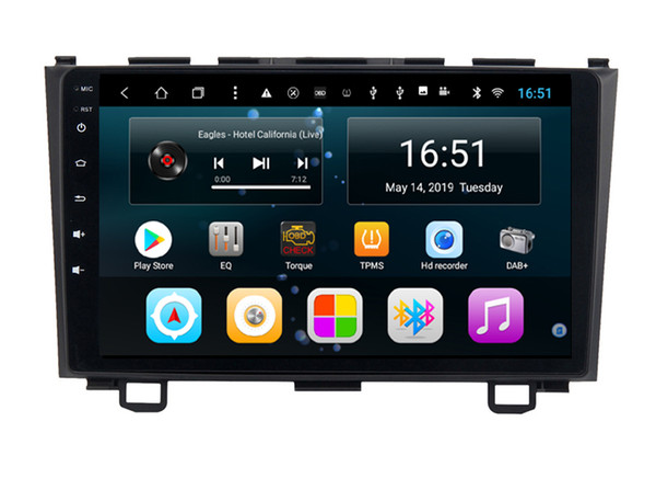 Android 10,1 Zoll 8-Kern für Honda OLD CRV 2011 Auto Multimedia Player Radio WIFI Bluetooth GPS Navigation Multi-Touchscreen Wifi Head Unit