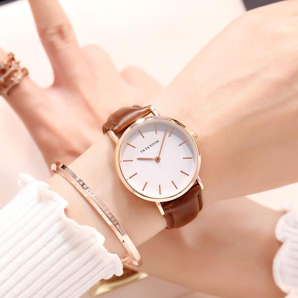 Краткие женские наручные часы с поясом-джокером Guangzhou Ma'am Wrist Watch